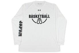 (★)[2色展開]アンダーアーマー UNDER ARMOURバスケ ロングtシャツバスケットボール男子日本代表ロングスリーブシャツ【1348178】