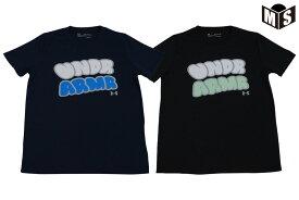 【キッズサイズ】【2色展開】アンダーアーマー UNDER ARMOURバスケ tシャツユーステックショートスリーブTシャツ【1359449】2020/8/22