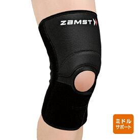 ザムスト ZAMSTヒザ用サポーター 左右兼用ミドルサポート【ZK-3】