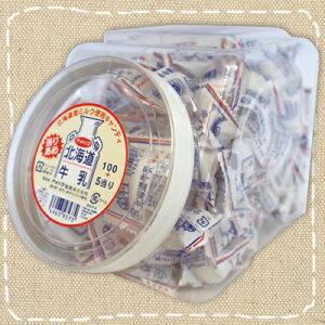 【特価】あたりつきポットキャンディ 北海道牛乳キャンデー アメハマ【駄菓子】