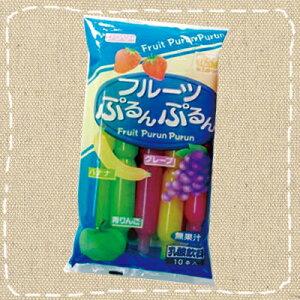 【駄菓子】チューペット 「フルーツぷるんぷるん」10本入り【卸価格】【期間限定】