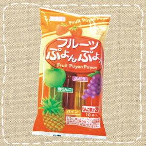 【駄菓子】チューペット 「フルーツぷよんぷよん」10本入り【卸価格】【期間限定】