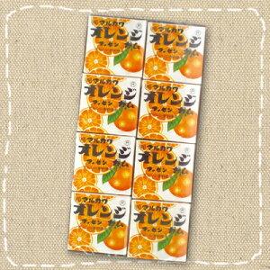 【特価】マルカワ オレンジマーブルガム 10円×24個入り1BOX【駄菓子】