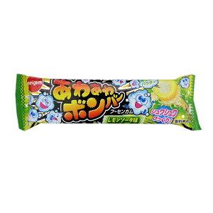 あわあわ ボンバー レモンソーダ味 20個入1BOX 明治チューイング フーセンガム【駄菓子】