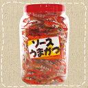 【駄菓子】ちびカツソース 100個入 タクマ食品 ポット容器入り ソースうまかつ【卸価格】