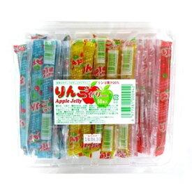 【特価】りんごゼリー 50本入り1パック 坂製菓【駄菓子】