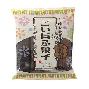 こい旨ふ菓子 4本入り×12袋 【やおきん】 沖縄多良間産黒糖使用の麩菓子 【駄菓子】