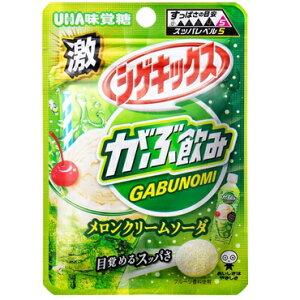 【卸価格】激シゲキックス メロンクリームソーダ【UHA味覚糖】10袋入り1BOX