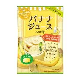バナナジュースcandy 70g×10袋 【扇雀飴本舗】バナナ果汁使用