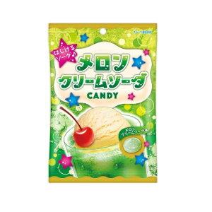 メロンクリームソーダ キャンデー 70g×1袋【扇雀飴本舗】