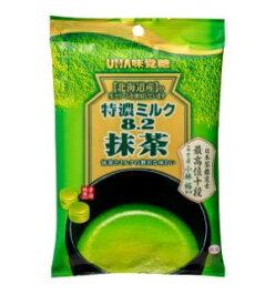 【期間限定】特濃ミルク8.2 抹茶 袋キャンデー 80g×6袋 UHA味覚糖