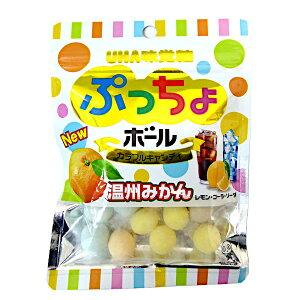 ぷっちょボール カラフルキャンディ 6袋入り1BOX UHA味覚糖 特価