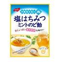 【特価】ノーベル製菓 塩はちみつミントのど飴 100g×1袋 沖縄海水塩使用