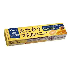 健康のど飴 たたかうマヌカハニー 11粒 10本入り6BOX スティックタイプ 【カンロ】