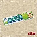 【卸価格】ハイチュウ グリーンアップル 48本(12本入り4BOX)【森永製菓】