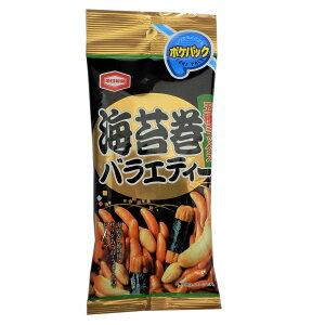 【特価】亀田製菓 ポケパック 海苔巻バラエティー 5種ミックス 47g×10袋入り8BOX(80袋) アジカル 限定特売品【卸価格】