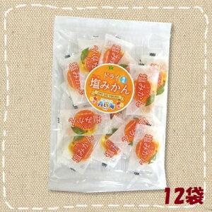 【特価】ドライフルーツ ドライ塩みかん ピロ個装 52g×12袋 沖縄の海水塩 青い海使用 熱中症対策に