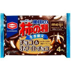 亀田の柿の種 チョコ&ホワイトチョコ 4袋詰×12袋
