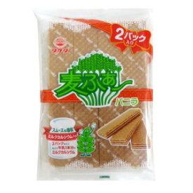 【卸価格】タケダ製菓 麦ふぁ〜 バニラ 8枚X2パック入【特価】