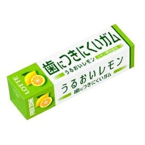 歯につきにくいガム フリーゾーンガム うるおいレモン 15本入り1BOX ロッテ 卸価格