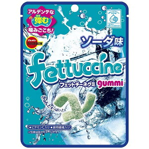 【ブルボン】 フェットチーネグミ ソーダ味 10個入り6BOX