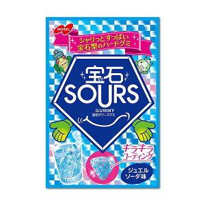【卸価格】宝石サワーズ グミ ジュエルソーダ味45g 6袋入り5BOX【ノーベル製菓】