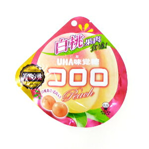 【卸価格】コロロ 白桃 40g×6袋入り1BOX【UHA味覚糖】果実のような新食感グミ 中国・タオバオでも人気急上昇!