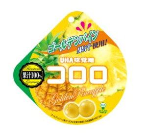 コロロ ゴールデンパイン 40g×6袋入り5BOX UHA味覚糖 果実のような新食感グミ 中国・タオバオでも人気急上昇!