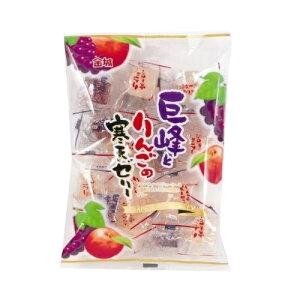 金城製菓 巨峰とりんごの寒天ゼリー200袋 特価 卸価格