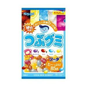 【特価】つぶグミソーダ 60袋 大量特売価格 春日井製菓【卸価格】1袋当り95円税別