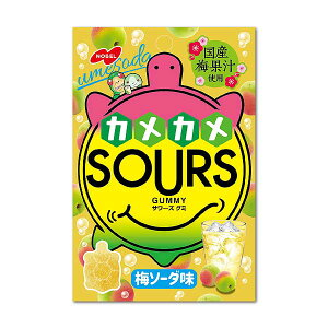 【卸価格】SOURS サワーズ 梅ソーダ 6個入り1BOX【ノーベル製菓】