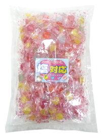 塩あめ ハートの形の塩飴 1kg 袋 キッコー製菓 約270粒 4種類アソート ハートなのに塩対応 熱中症対策