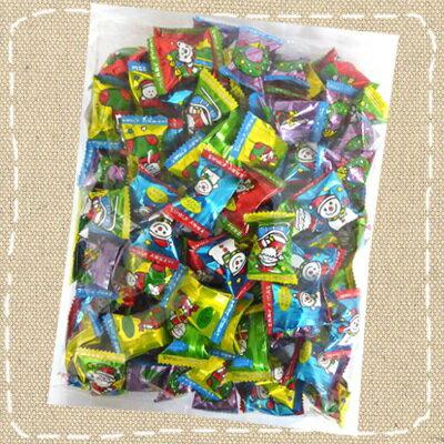 【業務用】1キロ入り クリスマスキャンディ キッコー製菓【1kg徳用キャンデー】【季節限定品】約160個入
