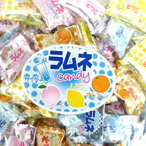【業務用】1キロ入り ラムネキャンディ【大加製菓】サイダー味、ピーチ味、レモン味、オレンジ味の4種類アソート