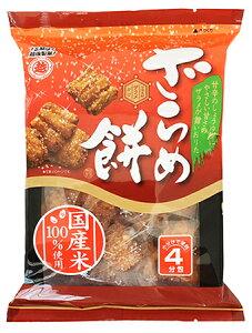 越後製菓 ざらめ餅4パック入り100g×6袋 甘辛しょうゆ味のおかき