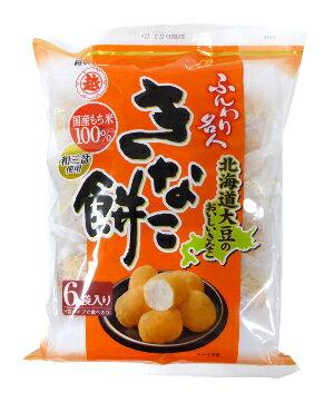 【特価】越後製菓ふんわり名人きなこ餅75g6袋詰