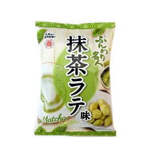 【越後製菓】 ふんわり名人抹茶ラテ 35g×10袋 国産もち米100%