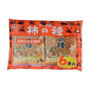 【浪花屋】 柿の種(6袋入)144g×12袋 国産もち米使用【数量限定特売】