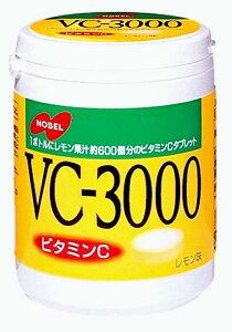 VC-3000 タブレット レモン 150g ボトルタイプX6個 ノーベル製菓