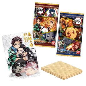 鬼滅の刃ウエハース3 20個入り1BOX カード付 【バンダイ】★代引・振込・キャンセル不可