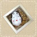 【節分】2月3日節分用 福豆 35g升(マス)タイプ おかめのミニお面付き【卸価格】