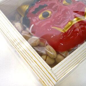 【節分】2月3日節分用福豆35g升(マス)タイプ鬼のミニお面付き【卸価格】
