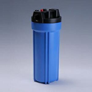 樹脂製フィルターハウジング 10インチ 1/2 青 エア抜き PAF10-1/2E | ろ過器 ろ過 濾過器 濾過装置 ろ過装置 濾過 濾過機 純水器 純水装置 フィルターハウジング 糸巻きフィルター ハウジング カ
