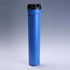 樹脂製フィルターハウジング 20インチ 1/2 青 エア抜き PAF20-1/2E | ろ過器 ろ過 濾過器 濾過装置 ろ過装置 濾過 濾過機 純水器 純水装置 フィルターハウジング 糸巻きフィルター ハウジング カートリッジフィルター 糸巻き メンブレン フィルターカートリッジ