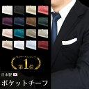 【名入れできます】お試し ポケットチーフ 日本製 無地 結婚式 パーティー 光沢 フォーマル メンズ 男性 紳士服…