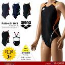 FINAマークあり ジュニア 女子 競泳水着 アリーナ FAR-4511WJ