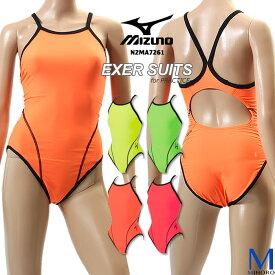 レディース 競泳練習用水着 mizuno ミズノ N2MA7261 【特別価格につき交換返品不可】