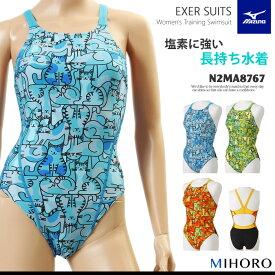 レディース 競泳練習用水着 mizuno ミズノ N2MA8767