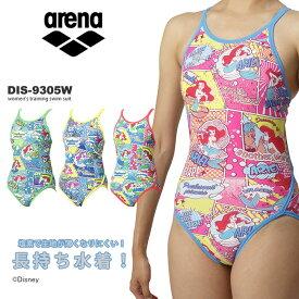 レディース 競泳練習用水着 arena アリーナ ディズニー DIS-9305W
