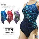 レディース 競泳練習用水着 女性 TYR ティア DORI7